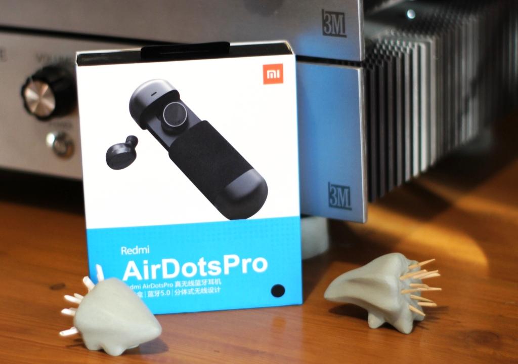 Наушники Xiaomi AirDots Pro 2 коробка
