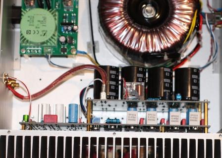 внутри клона FM711