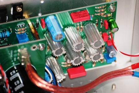 FM711 усилитель внутри купить
