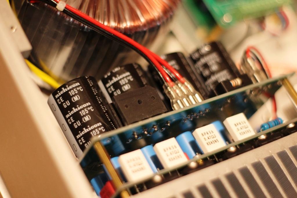 FM711 усилитель мощности внутри