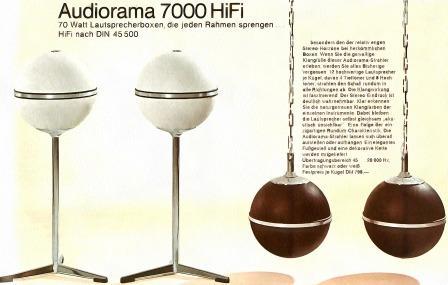 Grundig Audiorama 7000 hi-fi