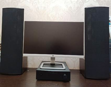 Электростатическая акустика Статик ЗМ - мини в работе