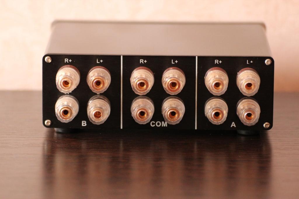 переключатель-1-акустики-2-усилителя
