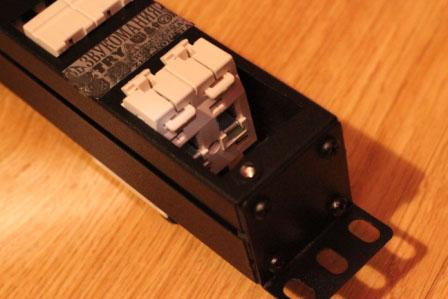 сетевой блок ЗМ с автоматом