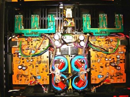 SONY TA-N7B усилитель мощности внутри