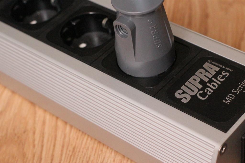 Сетевой кабель Supra LoRad CS-EU (3x2.5) подключение