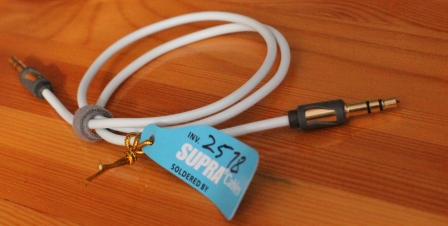 supra mp-cable 3.5 mm