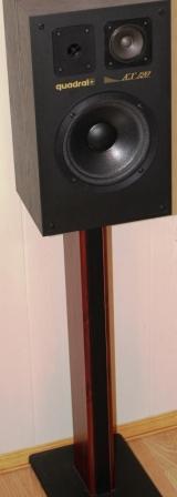 Стойка для акустики Empire RV24 ВСВ + АС Квадрал