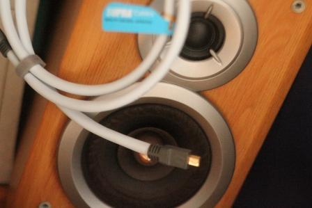 SUPRA USB 2.0 A-MINI B BLUE 1м