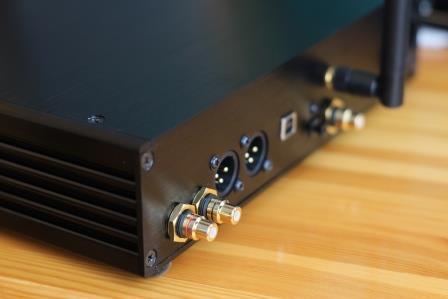 ЦАП на 9038 Audiophile V2 задняя панель