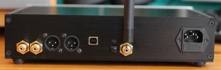 задняя панель ЦАП на 9038 Audiophile V2