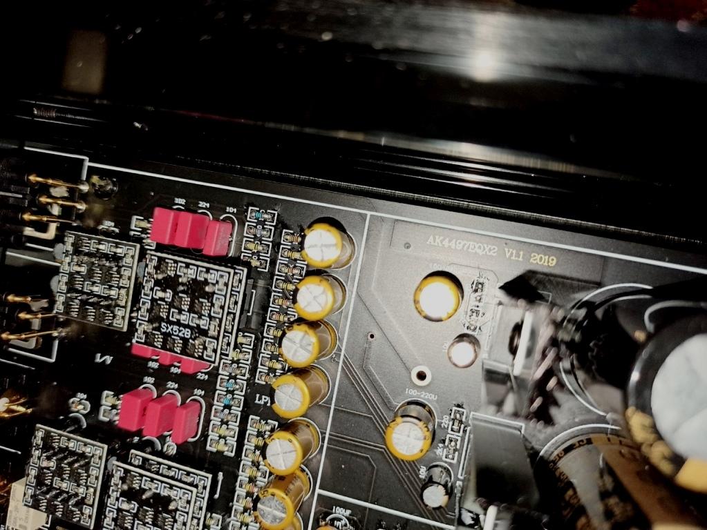 материнская плата ЦАП Audiophile V1.1 на 2 х AK4497EQ