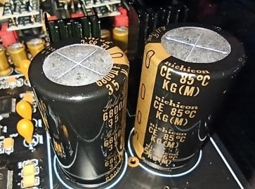 топовые конденсаторы Nichicon KG оригинал