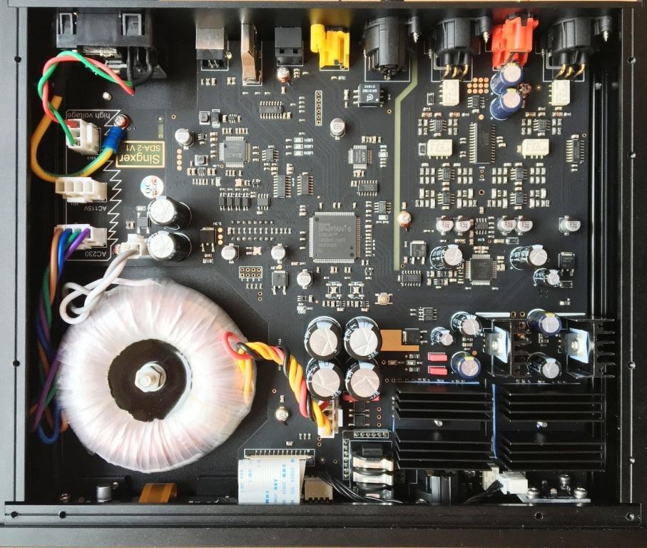 Singxer SDA-2 внутри