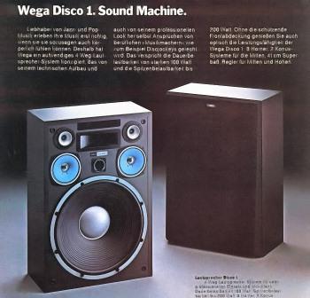 Wega Disco 1