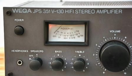 Wega JPS 351 усилитель