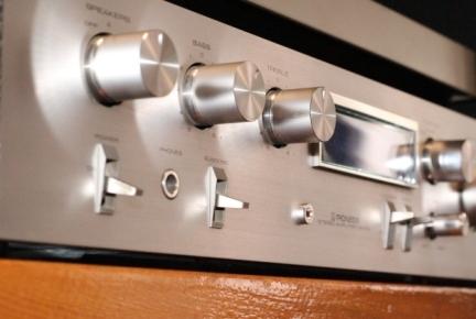 усилитель Pioneer SA510 винтаж