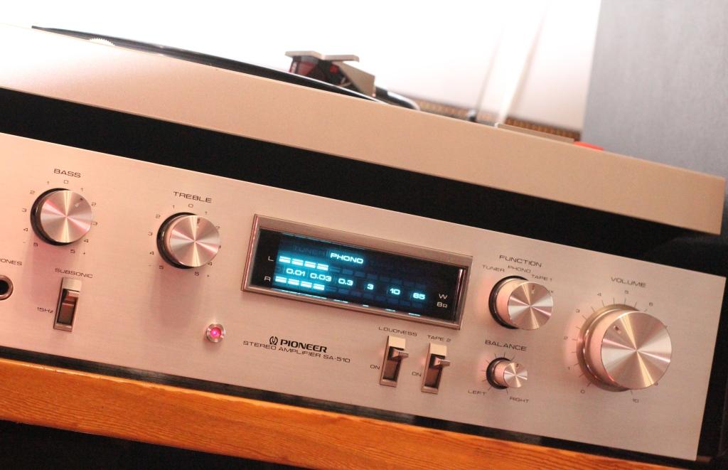 усилитель Pioneer SA510 прослушивание
