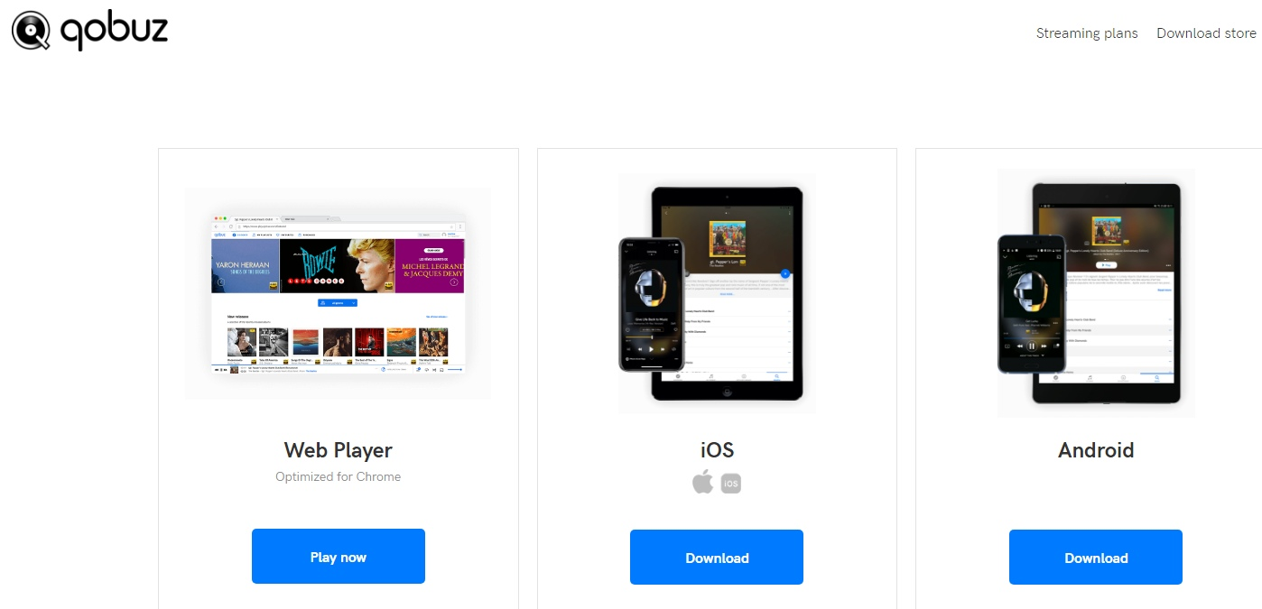 Qobuz загрузка на Windows MAC Android