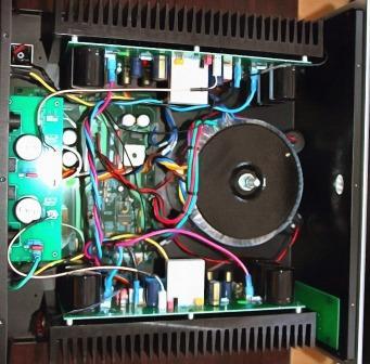 Cary Audio SA-200.2 внутри