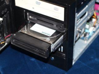 HTPC или аудиофил ПК с 2 корзинами