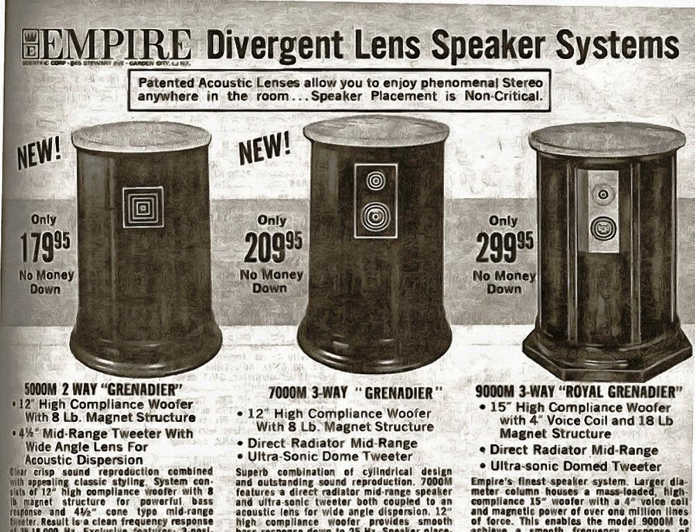 Empire Grenadier реклама в газете