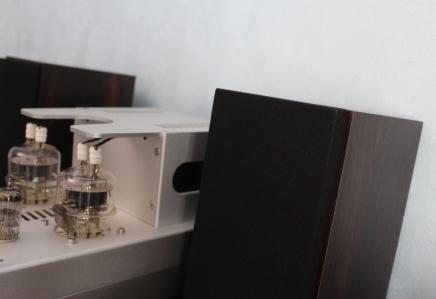 Акустические системы на широкополосных динамиках +ламповый усилитель ТОН