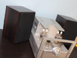 самая дешевая акустика на широкополосных динамиках + ламповик