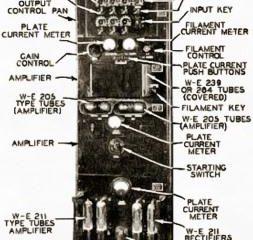 Western Electric 43A - кинотеатральный усилитель