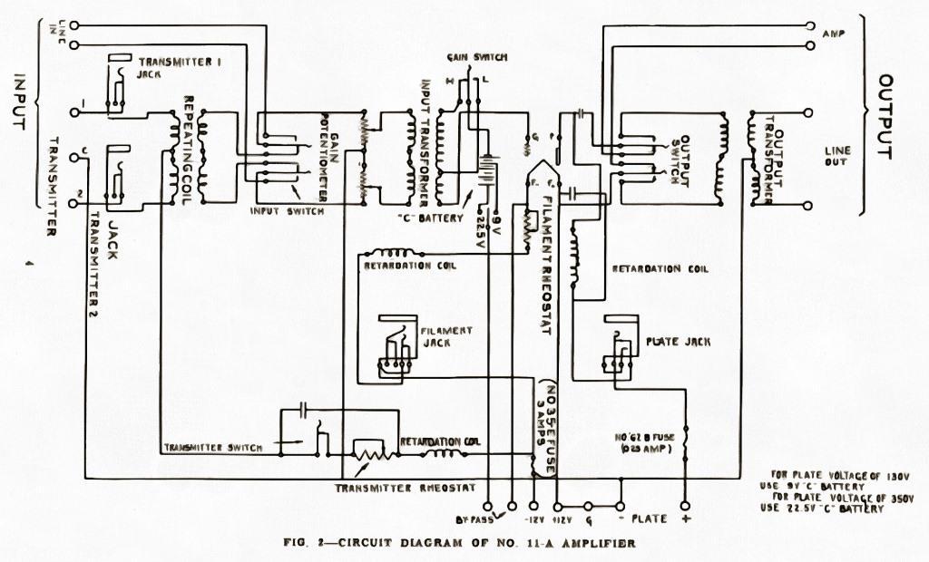 we11a усилитель ламповый схема