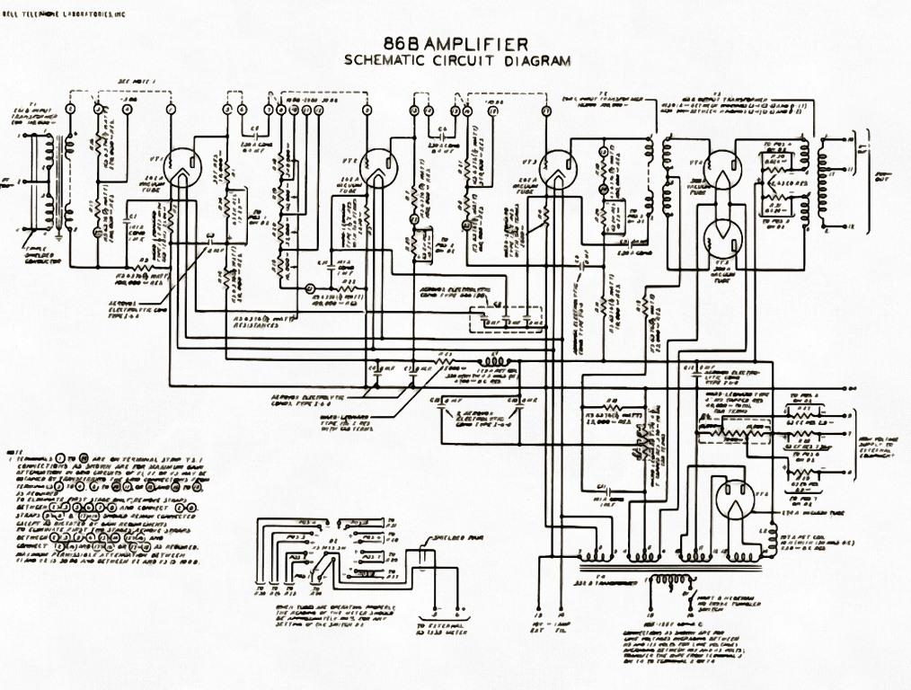 we86b схема лампового усилителя