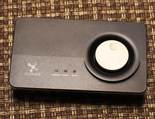 Asus Xonar U7 MK II карта