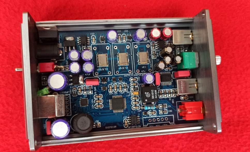внутри ЦАП на PCM 5102
