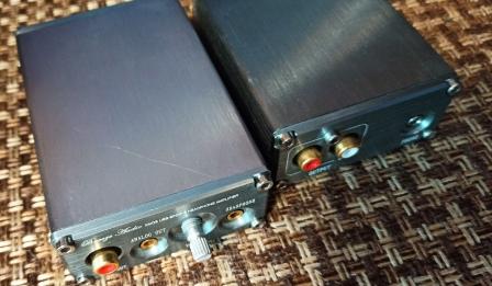 сранение 2 ЦАП слева pcm 5102 справа 4490