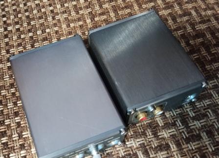 сранение 2 ЦАП - слева pcm 5102 справа 4490
