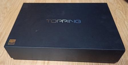 коробка ЦАП Topping D90